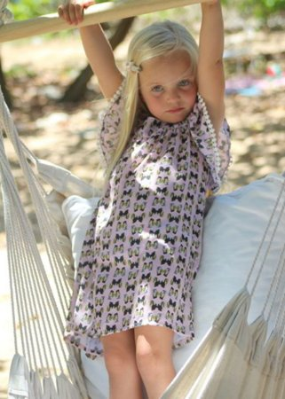 TeL-Vestido Infantil Estampado Honolua - Nalu