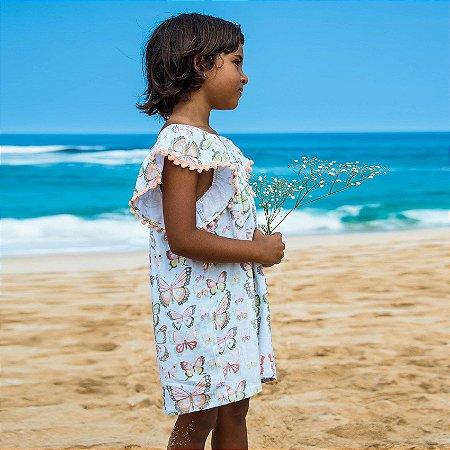 Vestido Infantil Honolua - Tiare