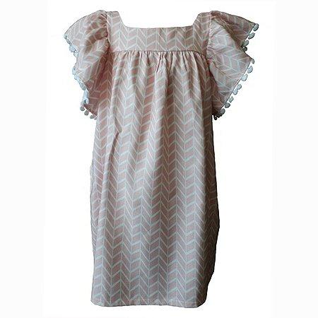 Vestido Infantil Estampado Honolua - Maya