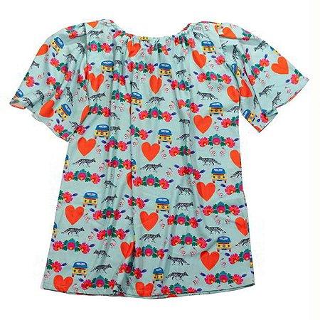 Vestido Infantil Colômbia - Mia
