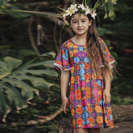 Vestido Infantil Dubai - Zoe