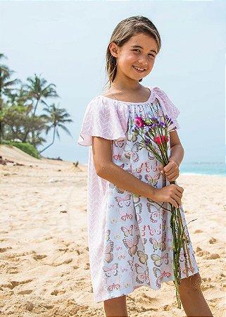Vestido Infantil Estampado Malia - Tiare/Maya