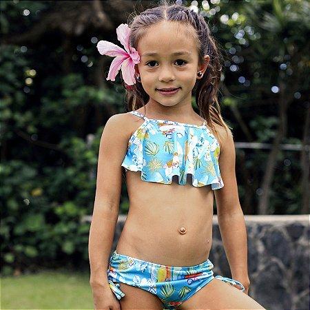 Biquíni Infantil Estampado Stella - Makai/Alohi