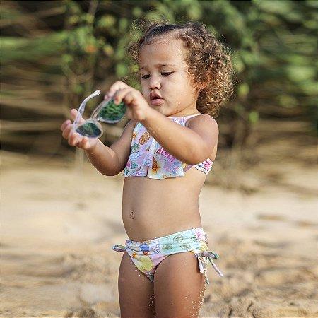 Biquíni Infantil Estampado Stella - Paradise/Pink Dot