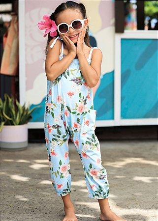 Macacão Infantil Ibiza - Floral