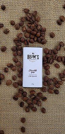 Mini Barra De Chocolate Com Café Especial 70% Cacau 25g
