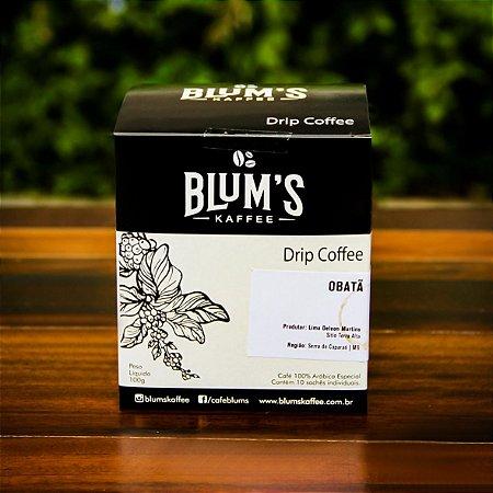 Caixa com 10 un.  Drip Coffee 10g cada - Café Especial  Obatã