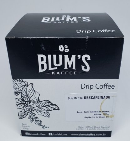 Caixa Drip Coffee Espresso 871 10 X 10G