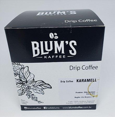 Caixa Drip Coffee - Café Especial Karamell 10g x 10un