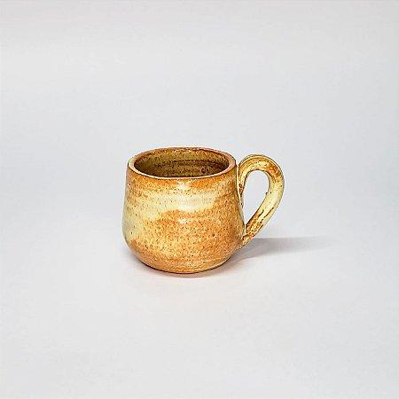 Xícara Pequena com Alça - Cerâmica Rústica Artesanal
