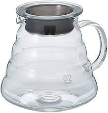 Jarra Hario v60 Range Server 600 - Clear