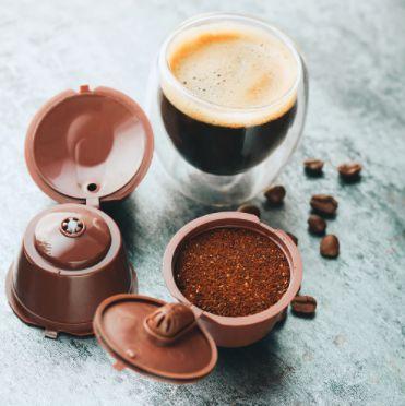 Cápsula de Café Reutilizável - Compatível com Máquina Dolce Gusto