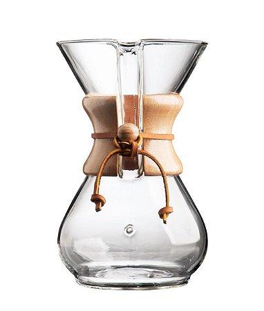 Cafeteira Chemex - Filter Drip Coffeemaker - 6 cup