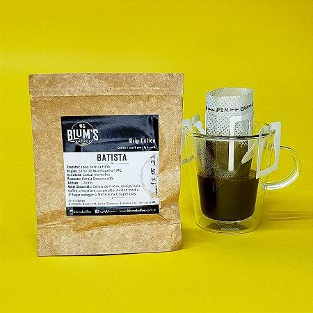 Drip Coffee Individual - Café Especial Batista 10g