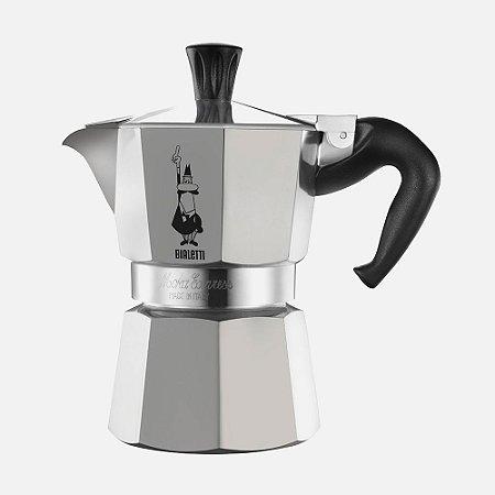 Cafeteira Bialetti Italiana - Moka 4 xícaras cup