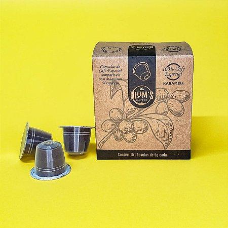 2 Cxs Cápsula de Café Karamell compatível com máquina Nespresso -  Total 20 unidades