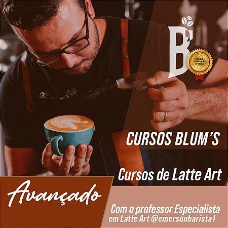 Curso - Latte Art avançado com Emerson Barista