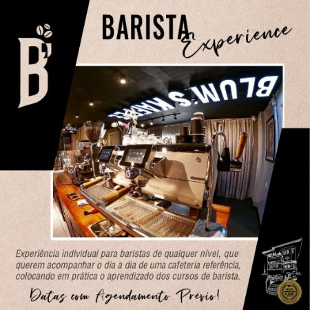 Curso Barista Experience - AGENDADO