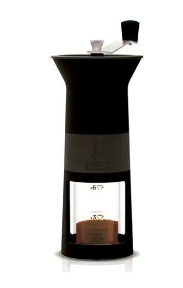 MOEDOR DE CAFÉ MANUAL  BIALETTI - PRETO