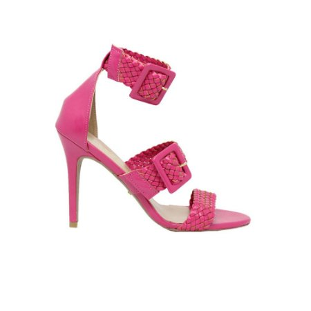 Sandália Feminina SHEPZ Salto Alto Pink