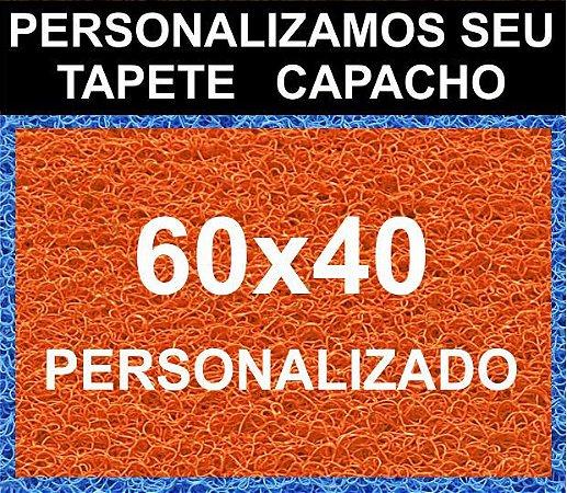 Tapete Capacho Vinil 60x40 Personalizado Loja Casa