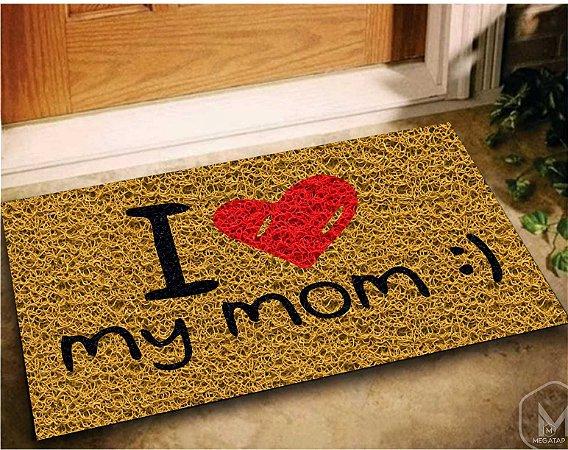 Tapete Mãe I Love My moon 60x40 - dia das mães
