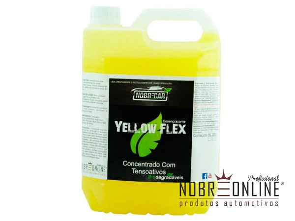 YELLOW FLEX 5L - DESENGRAXANTE  (NOBRE CAR)
