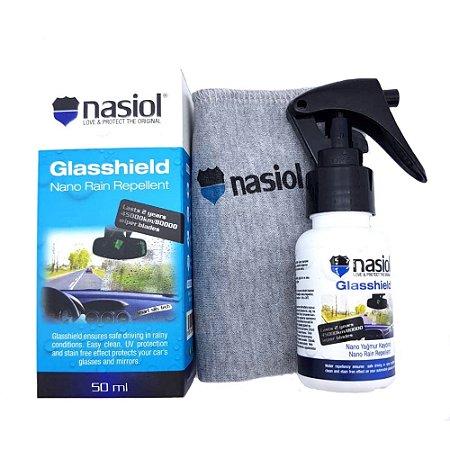 NASIOL Glasshield - Repelente de Chuvas e Líquidos (50ml)