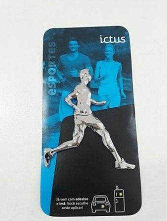 Adesivo Cromado ICTUS - Corrida