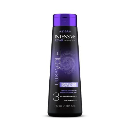 Triskle Intensive Repair Ultraviolet - Condicionador Desamarelador  350ml