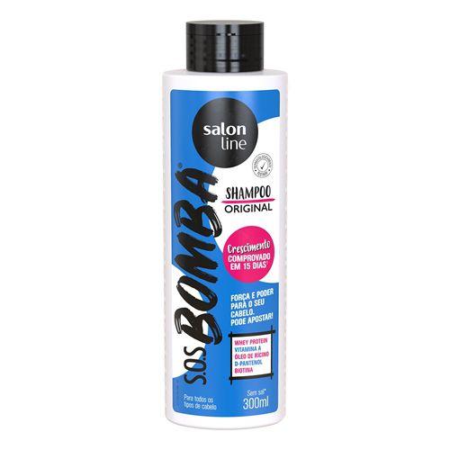Shampoo S.O.S Bomba Original Salon Line 300ml