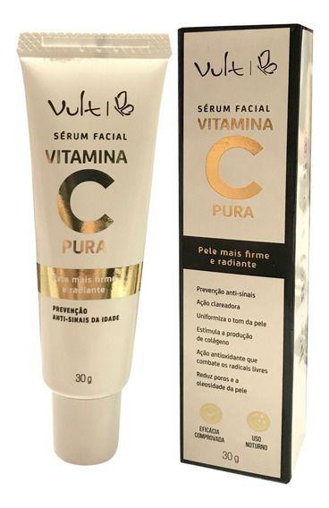 Vult Sérum Facial Vitamina C Pura   30g