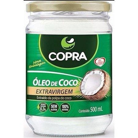 Oleo De Coco Extra Virgem 500ml Copra - Copra