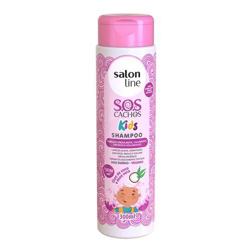 Salon Line Kids S.O.S Cachos - Shampoo 300ml