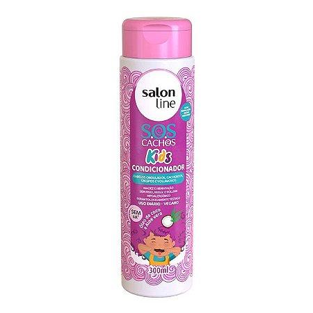 Condicionador S.O.S Cachos Kids Salon Line 300ml