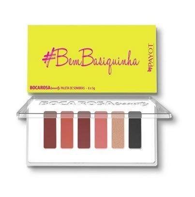 Payot Boca Rosa Beauty  #BemBasiquinha - Paleta de Sombra 6g