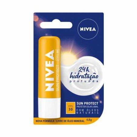 PROTETOR SOLAR LABIAL NIVEA SUN PROTECT FPS30