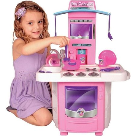 Cozinha Infantil Nova Big Cozinha Com Acessórios - Big Star