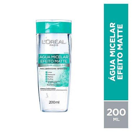 L'Oréal Paris - Água Micelar Efeito Matte 200ml