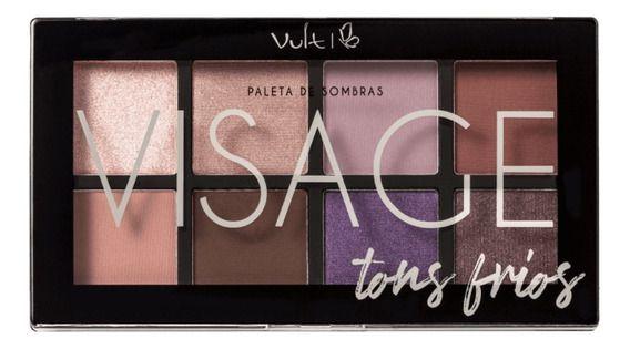 Vult Visage Tons Frios - Paleta de Sombras 16g