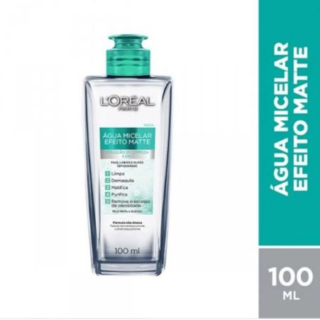 L'Oréal Paris - Água Micelar Efeito Matte 100ml