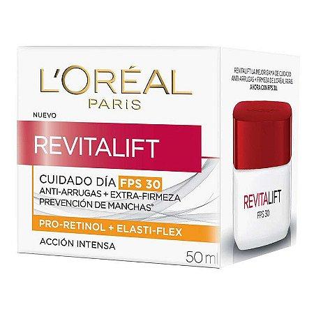 L'Oréal Paris Creme Revitalift Diurno FPS30  50ml