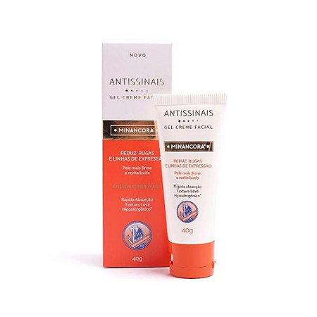 Minancora Antissinais Gel Creme Facial 40g