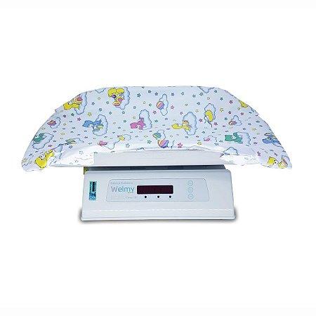 Balança Digital Pediátrica Baby Welmy 15kg 109-E C/ Almofada