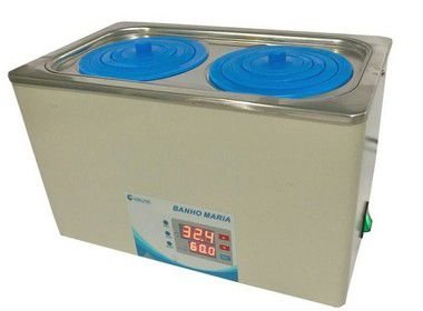 Banho Maria Digital Com 2 Bocas Capacidade 5 Litros