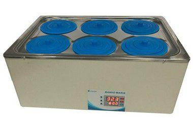 Banho Maria Digital Com 6 Bocas Capacidade 16 Litros