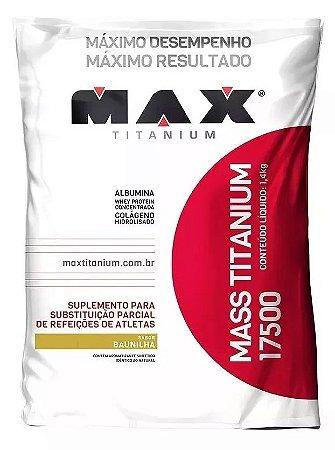 Hipercalórico Max Titanium 17500 3kg Baunilha - MAX SUPLEMENTOS