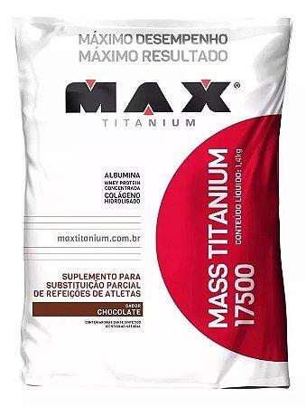 Hipercalórico Max Titanium 17500 3kg Chocolate - MAX SUPLEMENTOS