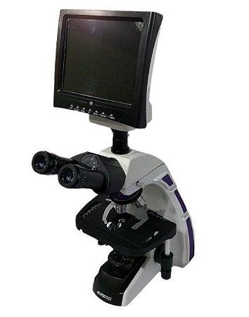 Monitor Led Para Microscópio Trinocular Global Trade