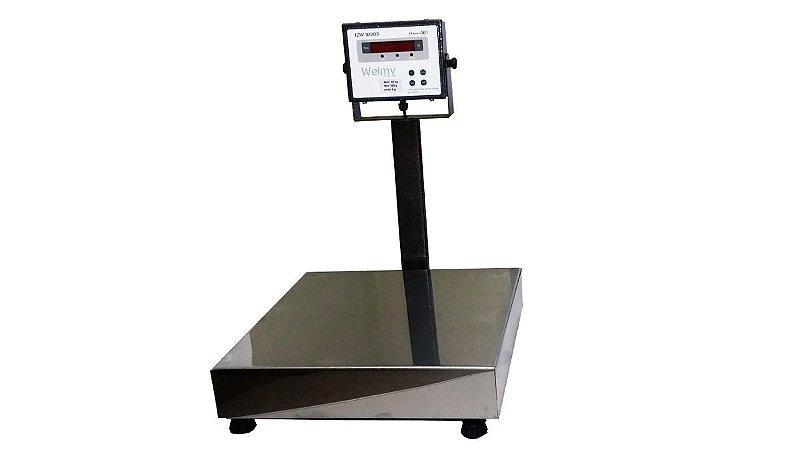 Balança Wpl Bancada - 40x40cm 100kg / 10g Welmy - 59221